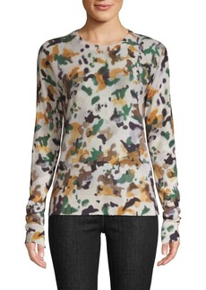 Zadig & Voltaire Printed Cashmere Sweater