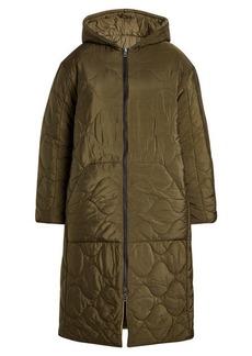 Zadig & Voltaire Quilted Coat with Hood