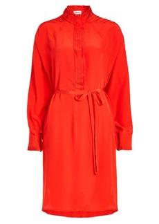 Zadig & Voltaire Rizzo Silk-Crepe Shirt Dress