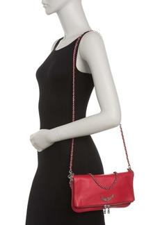 Zadig & Voltaire Rock Grained Leather Crossbody Bag