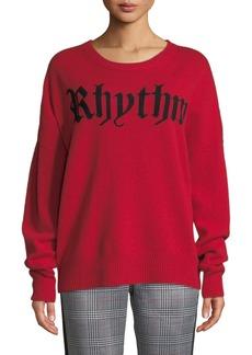 Zadig & Voltaire Rony Rythm Slogan Sweater