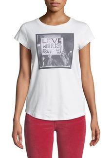 Zadig & Voltaire Skinny Love Graphic Scoop-Neck Tee