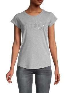 Zadig & Voltaire Skinny Rock Flash Strass T-Shirt