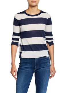 Zadig & Voltaire Source Cashmere Striped Sweater