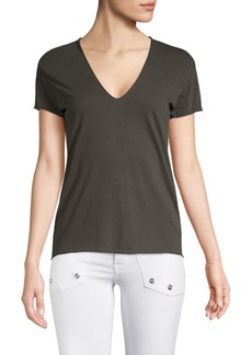 Zadig & Voltaire Story Fishnet Cotton Tee