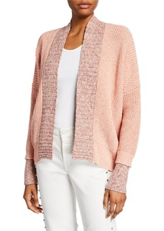 Zadig & Voltaire Tanya Open-Front Cropped Cardigan