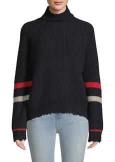 Zadig & Voltaire Textured Stripe Sweater