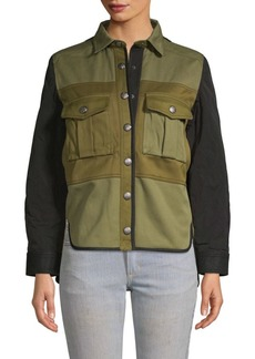 Zadig & Voltaire Timber Cargo Shirt Jacket