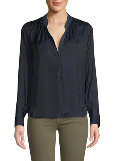 Zadig & Voltaire Tink Long-Sleeve Blouse