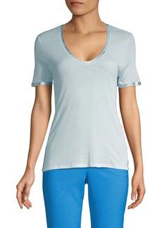 Zadig & Voltaire Tino Foil Trim T-Shirt