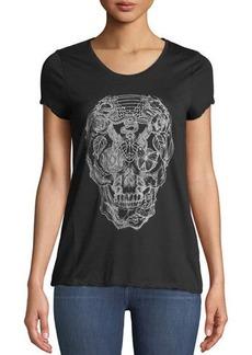Zadig & Voltaire Titan Skull Cotton Tee