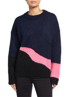 Zadig & Voltaire Tony Mohair/Wool-Blend Sweater