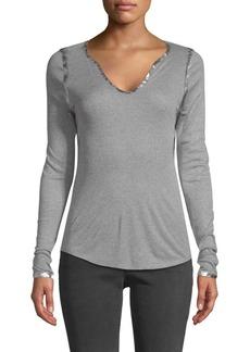 Zadig & Voltaire Tunisien Metallic Sweatshirt
