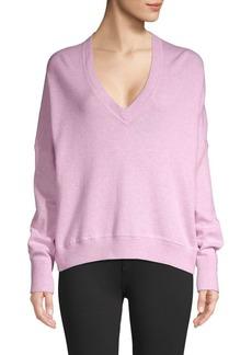 Zadig & Voltaire V-Neck Knit Sweatshirt