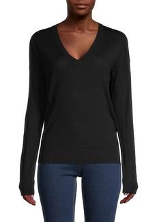 Zadig & Voltaire V-Neck Merino Wool Sweater