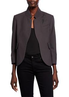 Zadig & Voltaire Verys Embellished Open-Front Jacket