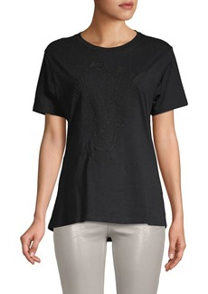 Zadig & Voltaire Walky Brode Embroidered Cotton Tee