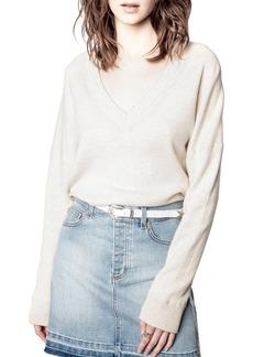Women's Zadig & Voltaire Brumy Merino Wool Sweater
