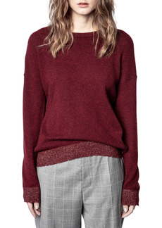 Women's Zadig & Voltaire Cici Patch Sweater
