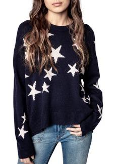 Women's Zadig & Voltaire Markus Stars Cashmere Sweater