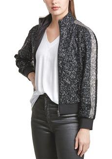 Zadig & Voltaire Baby Sequin Deluxe Silk-Blend Jacket