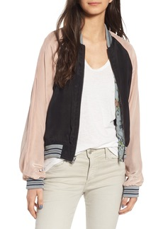 Zadig & Voltaire Billy Circus Reversible Bomber Jacket