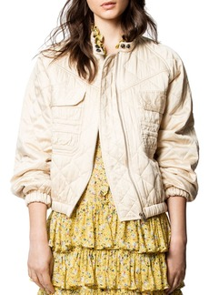 Zadig & Voltaire Bubble Quilted Jacket