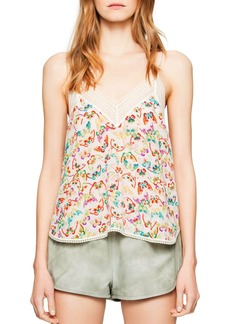 Zadig & Voltaire Christy Butterfly Camisole Top