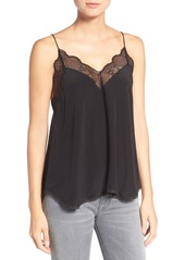 Zadig & Voltaire 'Christy' Lace Silk Tank