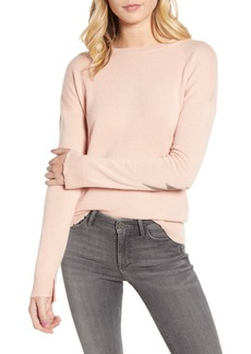 Zadig & Voltaire Cici Patch Sleeve Cashmere Sweater
