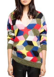 Zadig & Voltaire Diane Intarsia Sweater