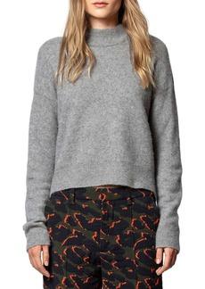 Zadig & Voltaire Eva Mock Neck Sweater