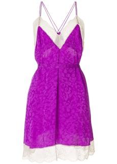 Zadig & Voltaire jacquard dress - Pink & Purple