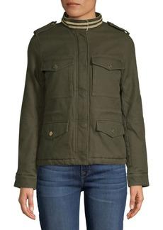 Zadig & Voltaire Kapo Military Cotton Jacket
