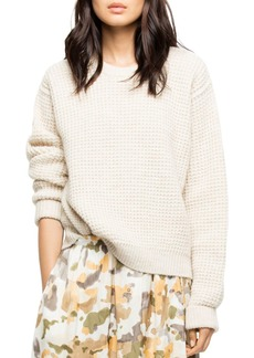 Zadig & Voltaire Kary Waffle-Knit Sweater