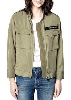 Zadig & Voltaire Kavy Embellished Army Jacket