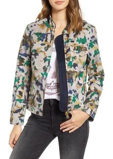 Zadig & Voltaire Kavy Watercolor Camouflage Cotton Jacket