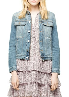Zadig & Voltaire Kioky Denim Jacket