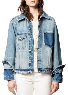 Zadig & Voltaire Klausi Dirty Denim Jacket