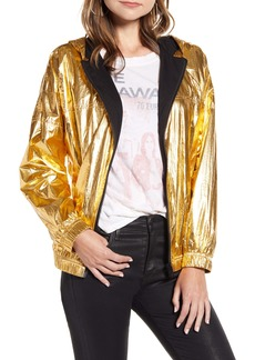 Zadig & Voltaire Koody Metallic Hooded Jacket