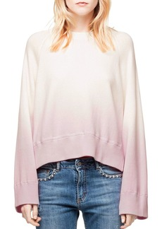 Zadig & Voltaire Lea Dip-Dye Sweatshirt