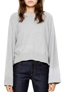 Zadig & Voltaire Lea High/Low Sweater