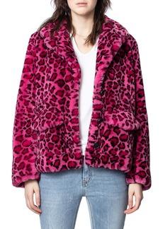Zadig & Voltaire Lila Faux Fur Jacket