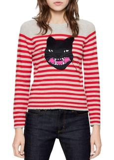 Zadig & Voltaire Lilo Ter Cashmere Sweater