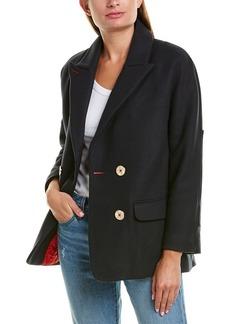 Zadig & Voltaire Marina Wool-Blend Coat