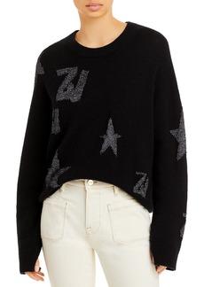 Zadig & Voltaire Markus Metallic Logo Sweater