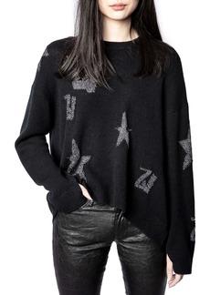 Zadig & Voltaire Markus Monogram Cashmere Sweater