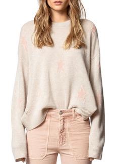 Zadig & Voltaire Markus Star Intarsia Cashmere Sweater