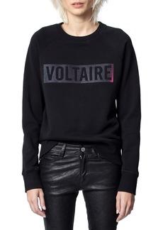 Zadig & Voltaire Massy Logo Graphic Sweatshirt