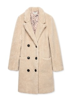 Zadig & Voltaire Mint Teddy-Bear Coat